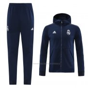 Tuta da Track Real Madrid 2020-2021 Blu